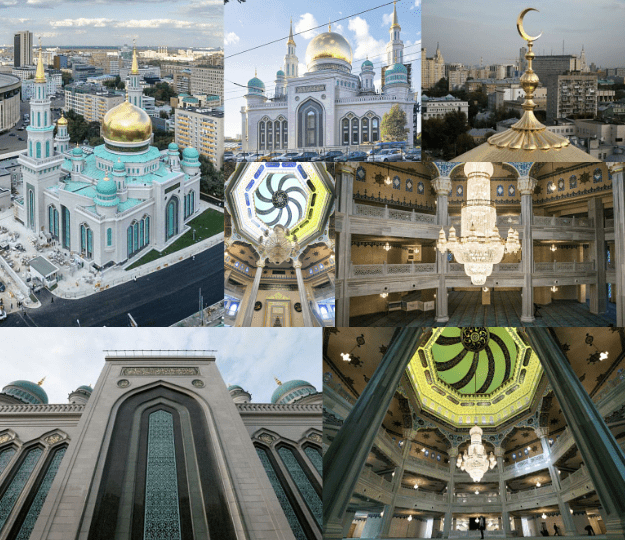 interior masjid agung moskow