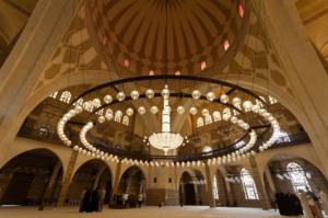 interior masjid al fateh bahrain