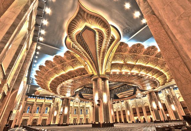 interior masjid al kabir kuwait