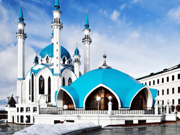 masjid qulsharif, kazan, rusia