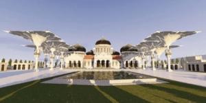 wajah baru masjid agung aceh