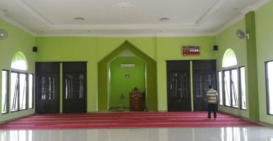 Arsitektural Bangunan Masjid Arrayan Villa Kencana Cikarang