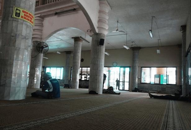 Arsitektural Masjid Jami' Al-Mubarok Margahayu