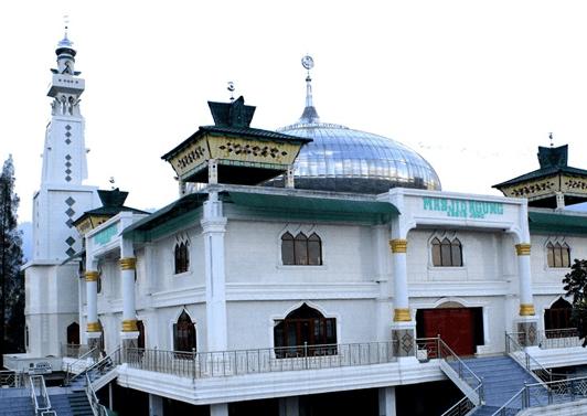 Masjid Agung Kabanjahe Kabupaten Karo