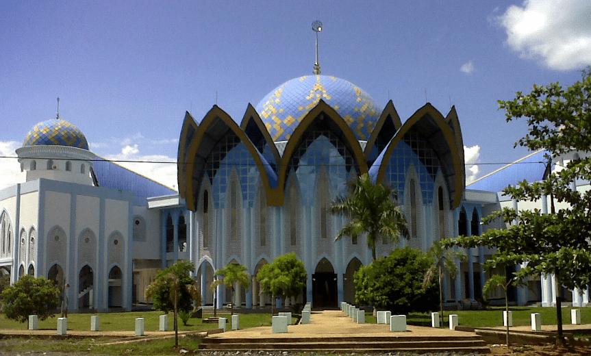 Masjid Agung Nurussalam Tanah Bumbu
