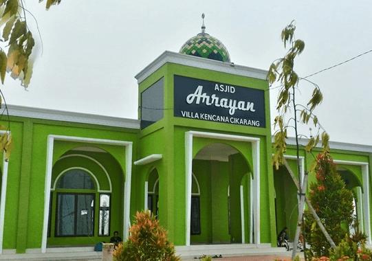 Masjid Arrayan Villa Kencana Cikarang