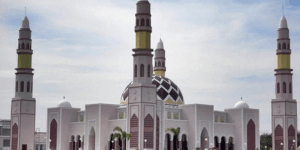 Masjid Babussalam Islamic Center Kabupaten Muara Enim