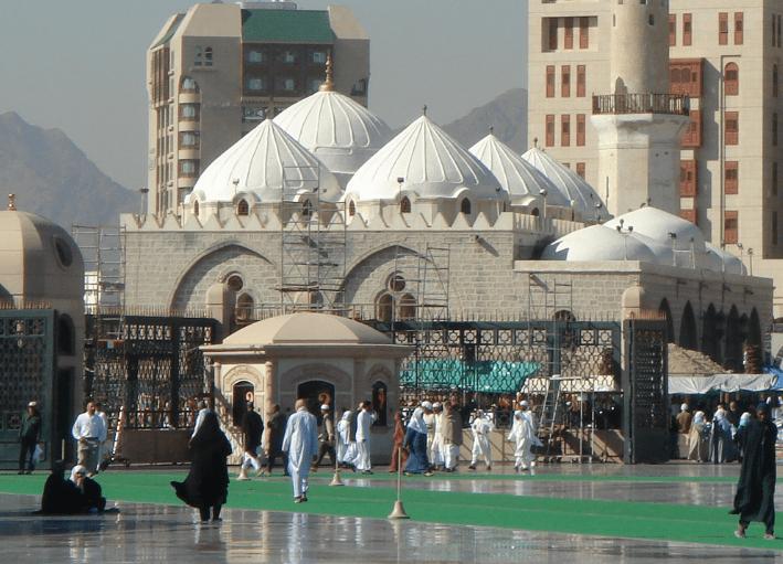Masjid Ghamama Madinah