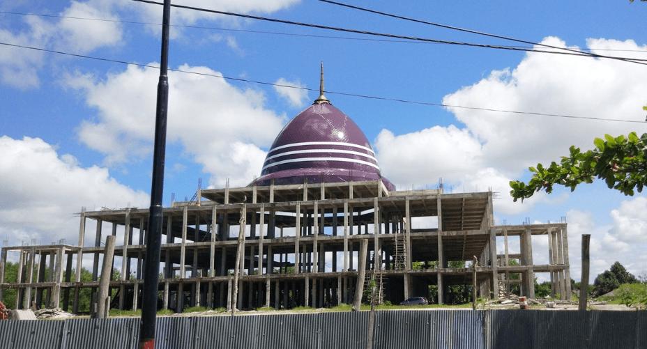 Masjid Kubah Kecubung, Palangkaraya