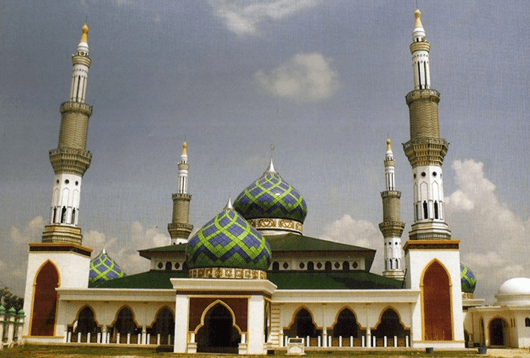 Masjid Raya Al-Muttaqin Pangkalan, Kerinci