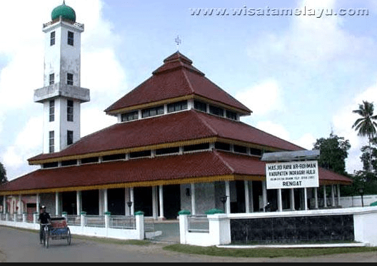 Masjid Raya Rengat, Indragiri, Hulu, Riau