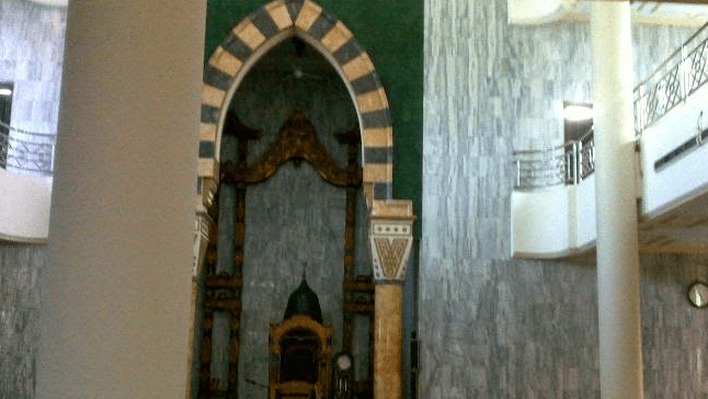 arsitektur Masjid 'Bengak' Al-Raisiyah