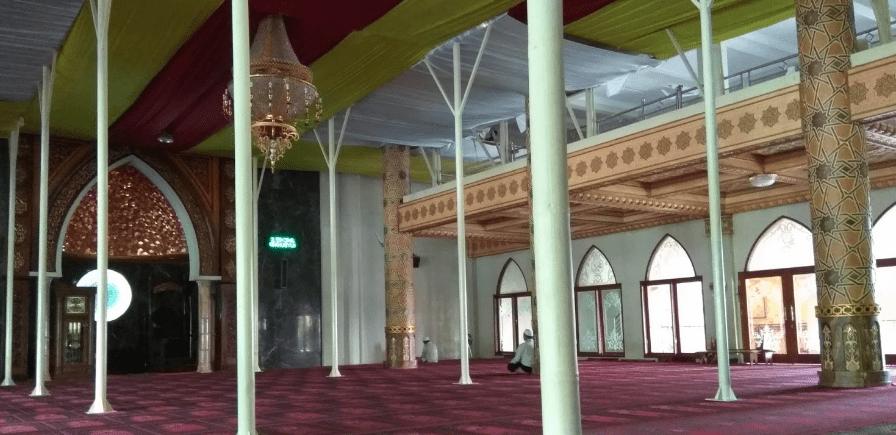 arsitektur Masjid Agung An-Nur Kota Batu