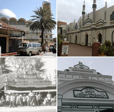 arsitektur Masjid Agung Kolombo – Warisan Bangsawan Bugis