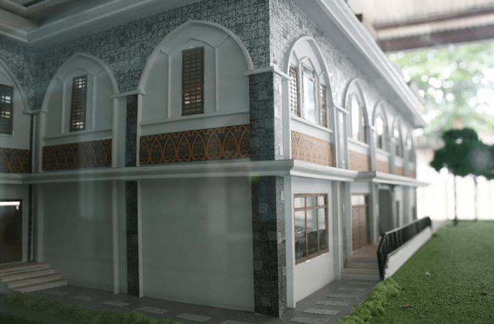 arsitektur Masjid Jami' Raudhatul Jannah