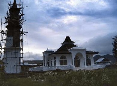 arsitektur Masjid Palembang Darussalam – Lhoknga, Nangroe Aceh Darussalam