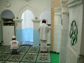 interior Langgar Al-Yahya Gandekan