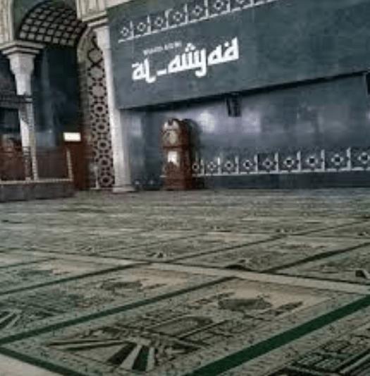 interior Masjid Agung Al-Amjad