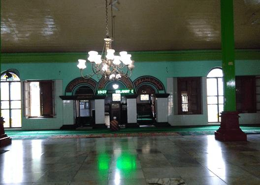 interior Masjid Agung Baitunnur Blora