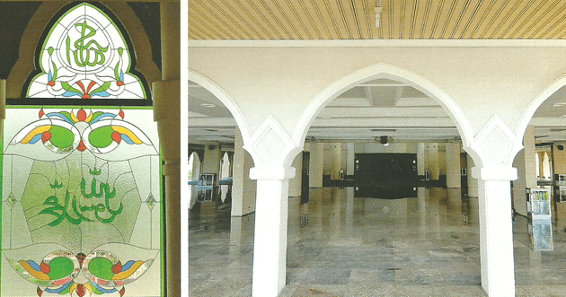 interior Masjid Agung Mujahidin Majenang