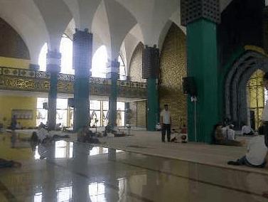 interior Masjid Agung Ulul Azmi & Islamic Centre Pelalawan