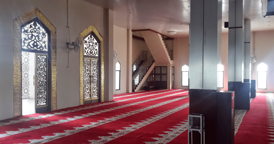 interior Masjid Al-Akbar – Balangan Kalimantan Selatan