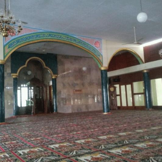interior Masjid Besar Lembang