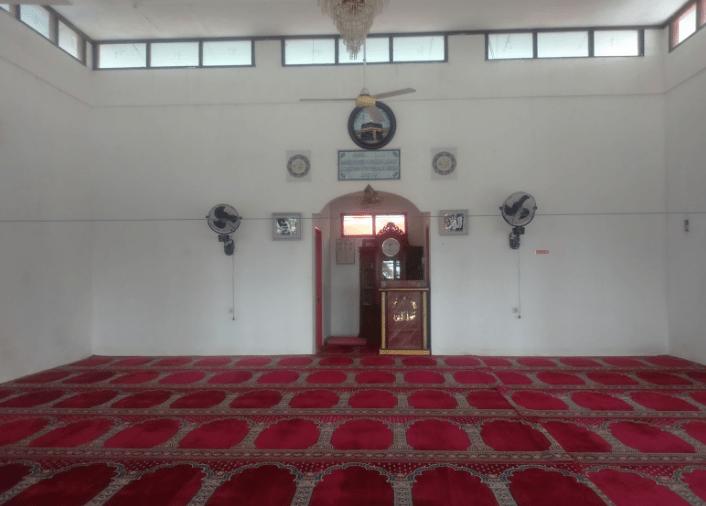 interior Masjid Cheng Hoo Kutai Kartanegara