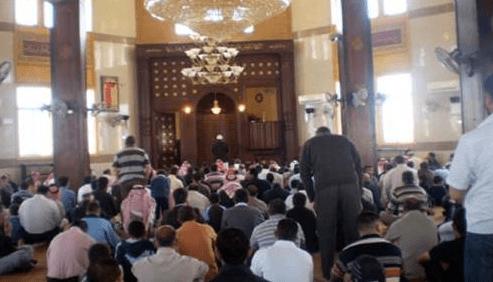 interior Masjid Isa Bin Maryam, Yordania