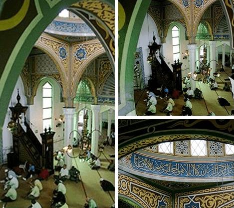 interior Masjid Primeira do Brasil