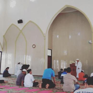interior Masjid dan Islamic Centre Kotabumi