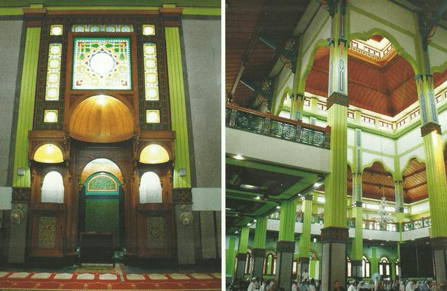interior masjid agung cianjur