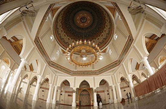 interior masjid agung sultan jeumpa