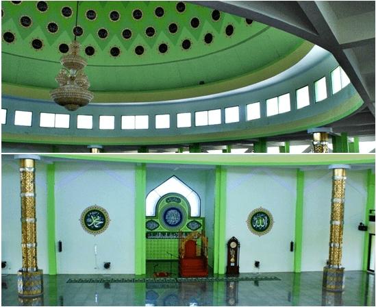 interior masjid al buruj