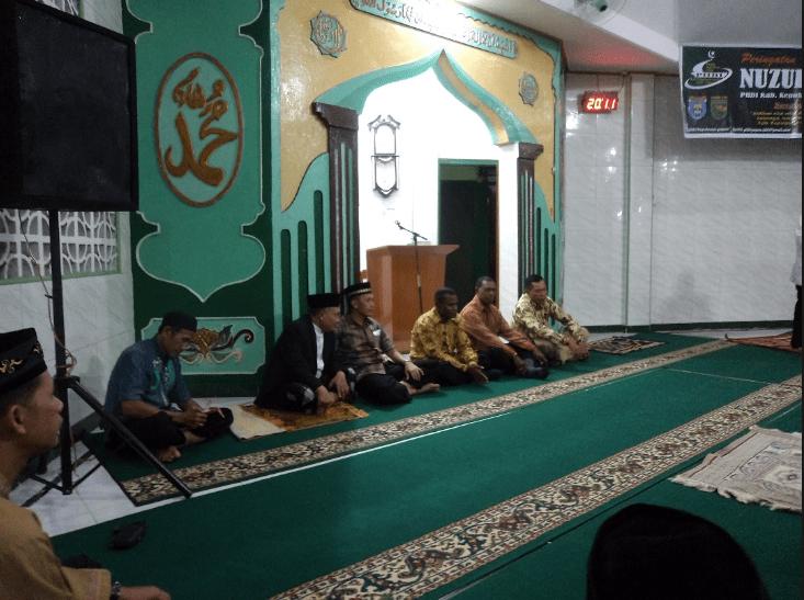 interior masjid al falah