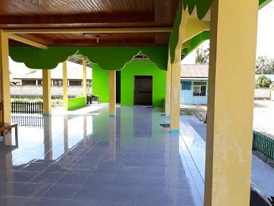 interior masjid al islah arso IX