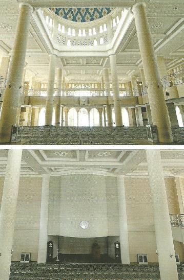 interior masjid al mujahidin