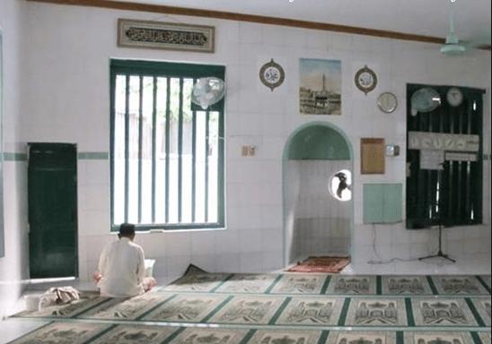 interior masjid ar raudah