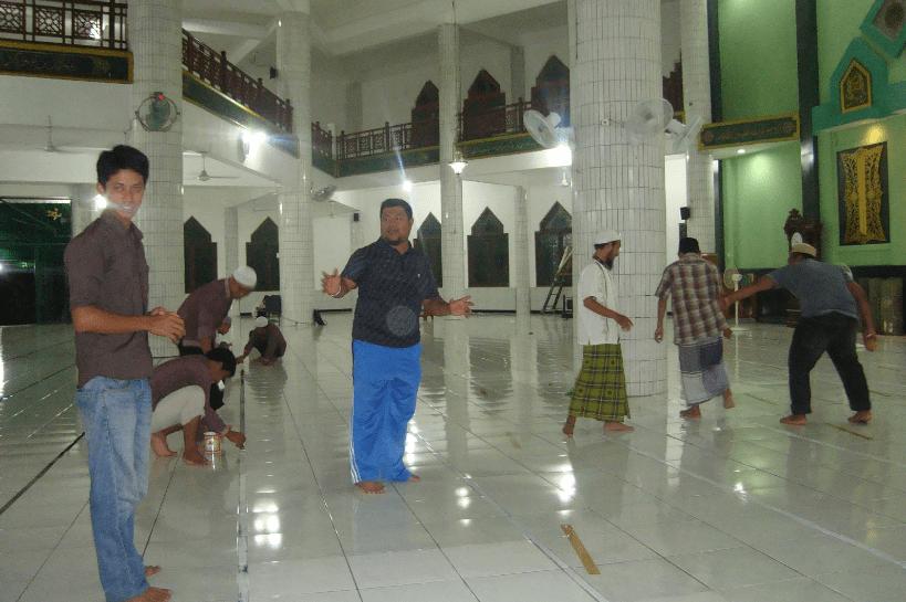 interior masjid baitul musyahadah