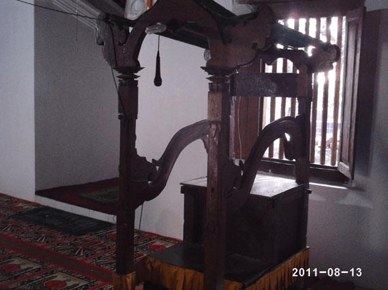 interior masjid pajimatan