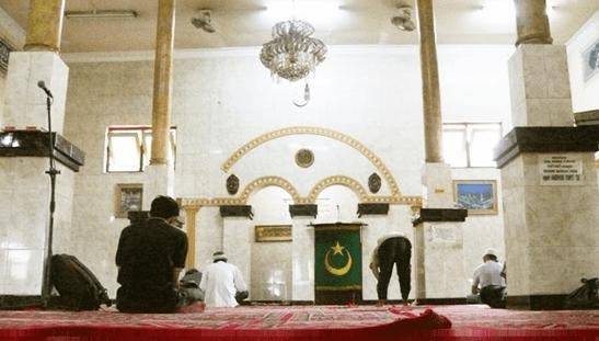 interior masjid raya al arif