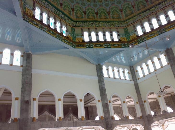 interior masjid raya pase aceh