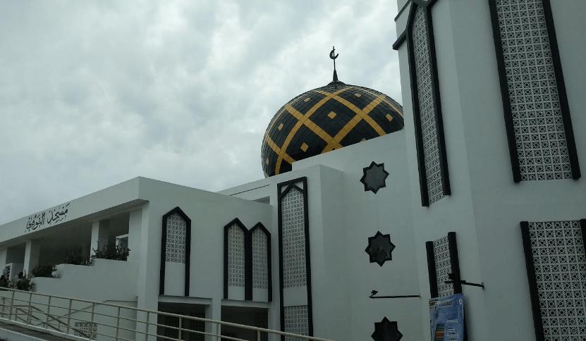 kubah Masjid At-Taufik – Kuningan Islamic Centre