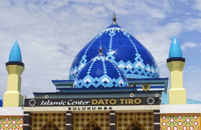 kubah Masjid Islamic Center Dato Tiro Bulukumba