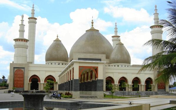 kubah masjid Islamic Center Bangkinang, Kabupaten Kampar