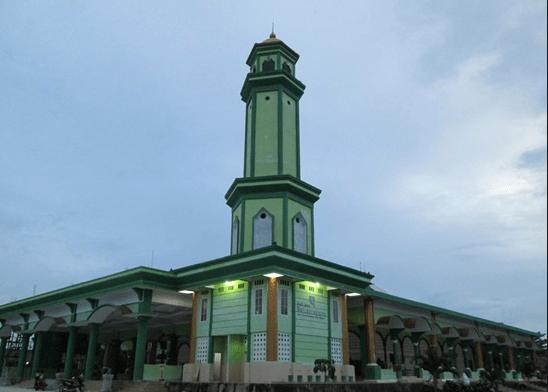masjid agung baiturrahman.