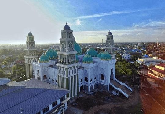 masjid agung ketapang.