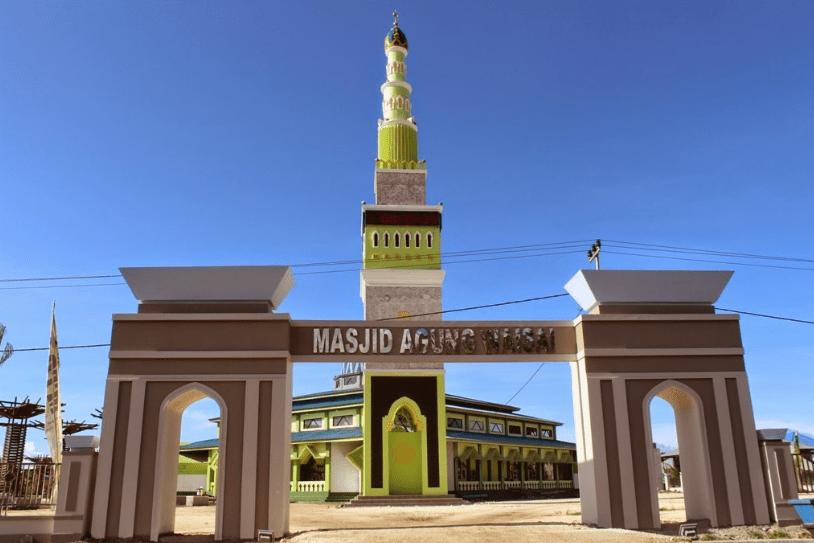 masjid agung waisa raja ampat