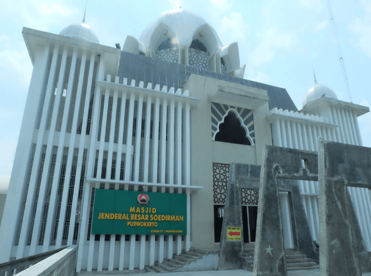 masjid besar jendral soedirman