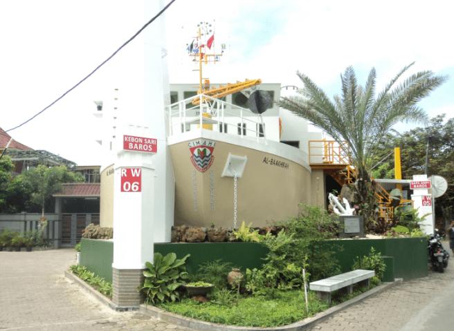masjid kapal laut